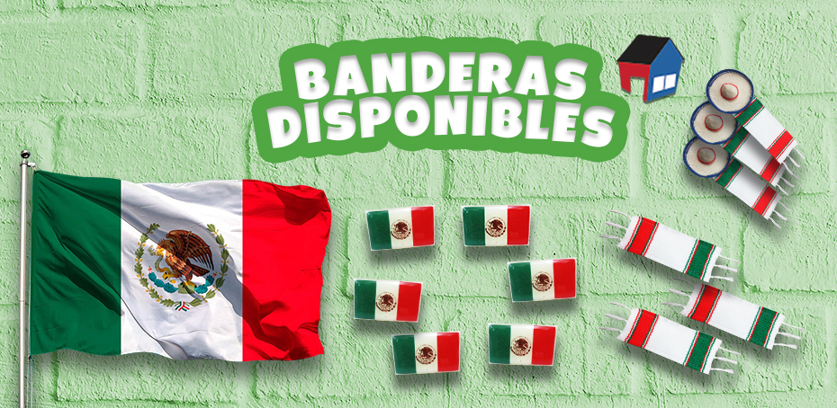 banderas disponibles